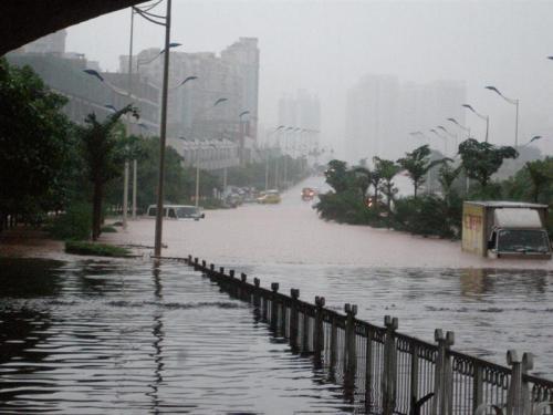 Наводнение в городе Чунцин. Фото с epochtimes.com