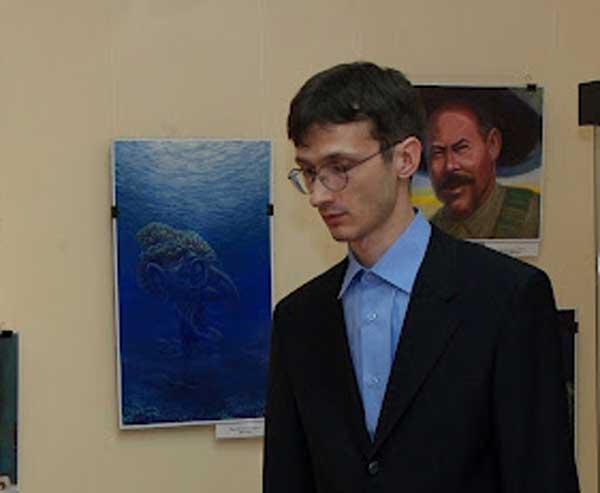 В 34-річний художник Денис Лопатін в 2011році став дипломантом великих міжнародних конкурсів у Португалії та Німеччини. Фото: nr2.ru