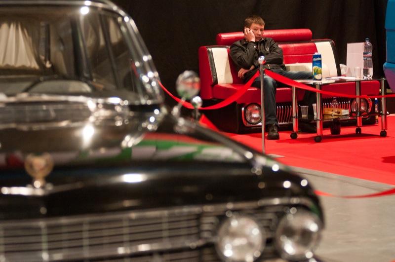 Виставка рідкісних автомобілів «Ретро і екзотика мотор шоу» проходить у Києві 12—14 жовтня 2012 року. Фото: Володимир Бородін/Велика Епоха