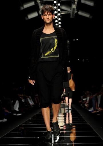 Мужская коллекция John Richmond весна-лето 2010 г. на Неделе моды в Милане. Фото: Tullio M. Puglia/Getty Images