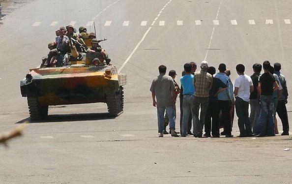 Ситуация в Оше остается напряженной. Фоторепортаж. Фото: OLEG NEKRASOV/AFP/Getty Images