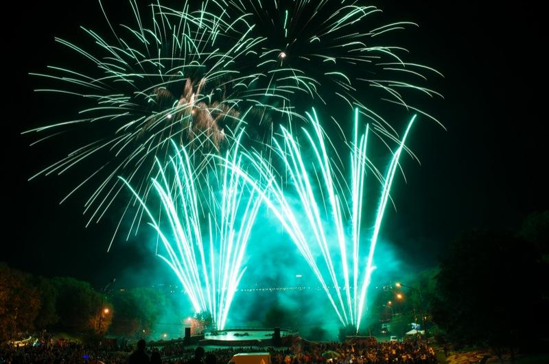 Чемпионат фейерверков «Танец огня» прошёл в Киеве 7—9 сентября 2012 года. Фото: Владимир Бородин/Великая Эпоха
