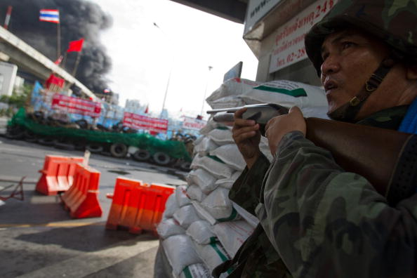 Штурм лагеря «Красных рубашек» Фоторепортаж. Фото: Athit Perawongmetha/Getty Images