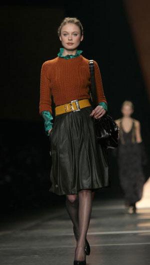 The Etro fashion show/женская коллекция ready-to-wear осень-зима 2007. Фото: Giuseppe Cacace/Getty Images