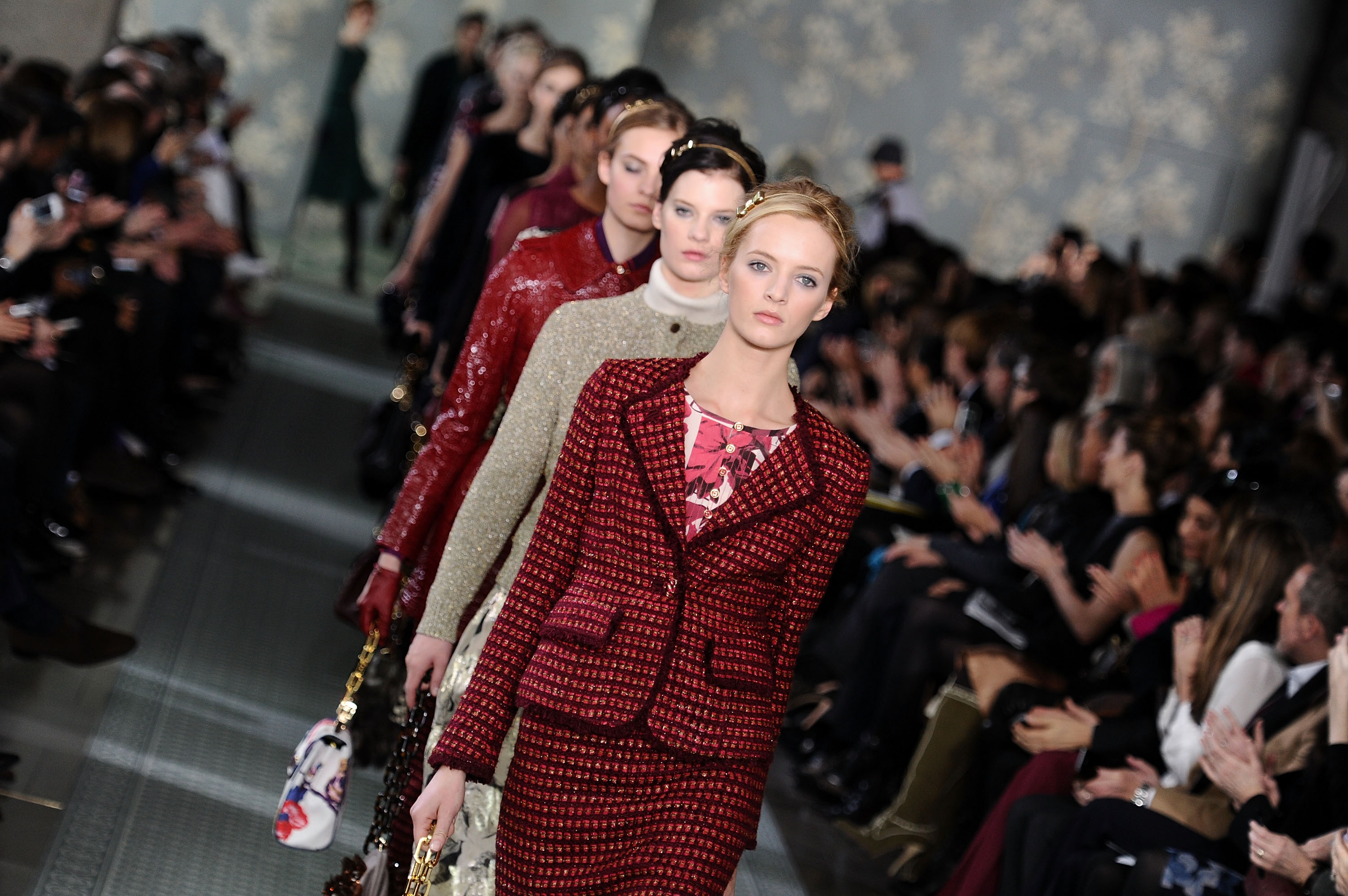 Американський модельєр Торі Барч (Tory Burch) на Mercedes-Benz Fashion Week. Фото: Mike Coppola / Getty Images