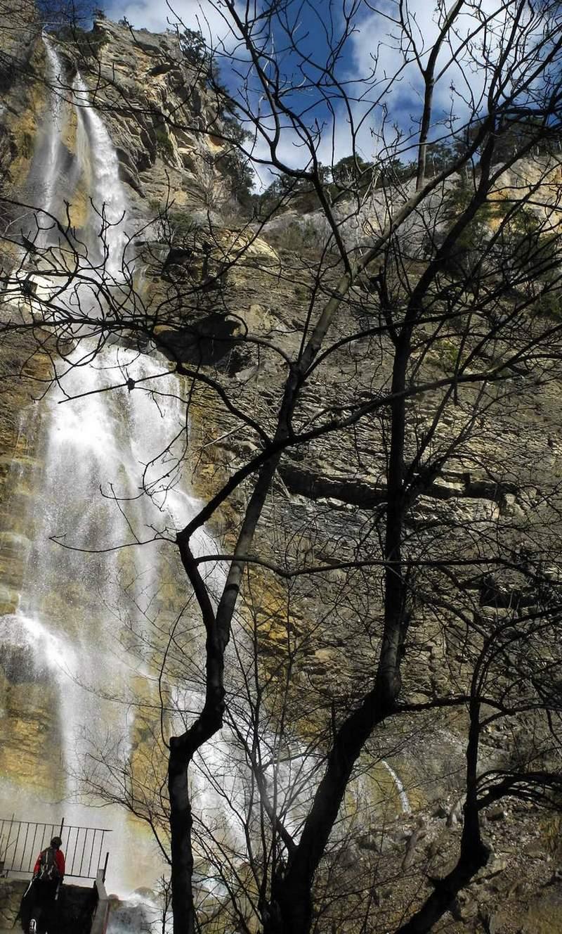 Водоспад «Летюча вода». Фото: Алла Лавриненко/EpochTimes.com.ua
