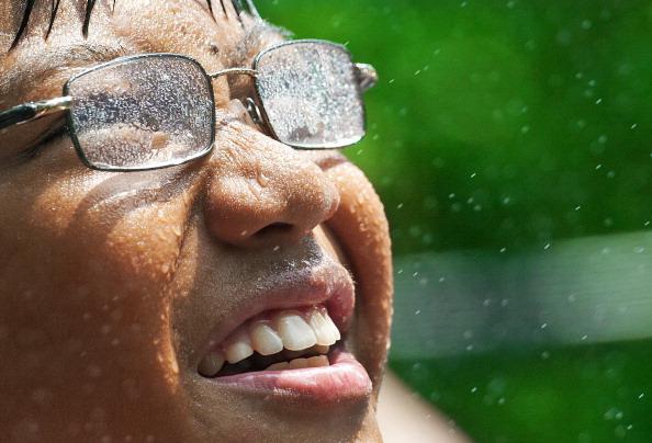 На восточное побережье США пришла сильнейшая жара. Фото: PAUL J. RICHARDS/AFP/Getty Images
