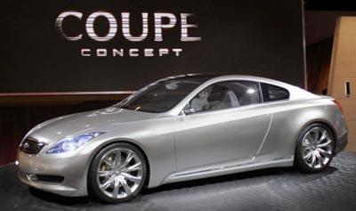 Модель Infinity Coupe Concept Vehicle. Фото: Bill Pugliano/Getty Images