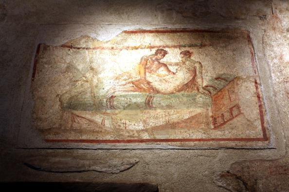 Дом Гладиаторов (Gladiators) в Помпее – объект всемирного наследия ЮНЕСКО разрушился. Фоторепортаж. Фото: Franco Origlia/Getty Images