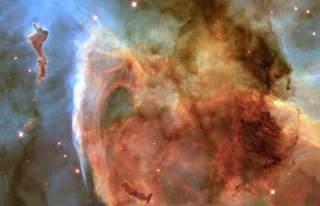 3 лютого 2000 р. Туманність Кіля NGC 3372. Фото: NASA, The Hubble Heritage Team (AURA/STScI)