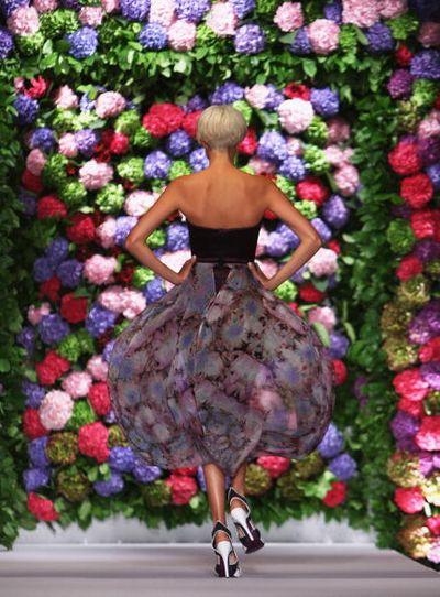 Супермодель Agyness Deyn на Лондонской Неделе Моды. Фото: Dan Kitwood/Getty Images