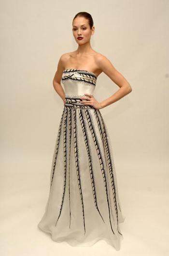 Коллекция одежды от нью-йоркского дизайнера Каролины Эрреры (Carolina Herrera). Фото: Andrew H. Walker/Getty Images