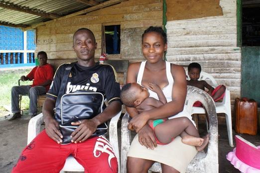 Молода сім'я. Фото: Олександр Африканець