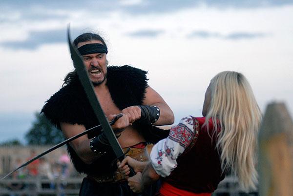 Міжнародний фестиваль каскадерів. Фото: Володимир Бородін / The Epoch Times