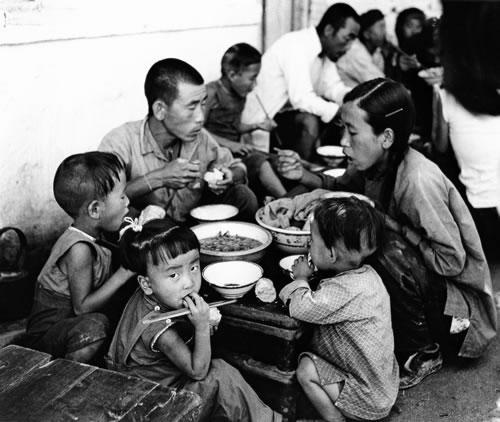 Китай в годы Большого скачка. Фото с aboluowang.com