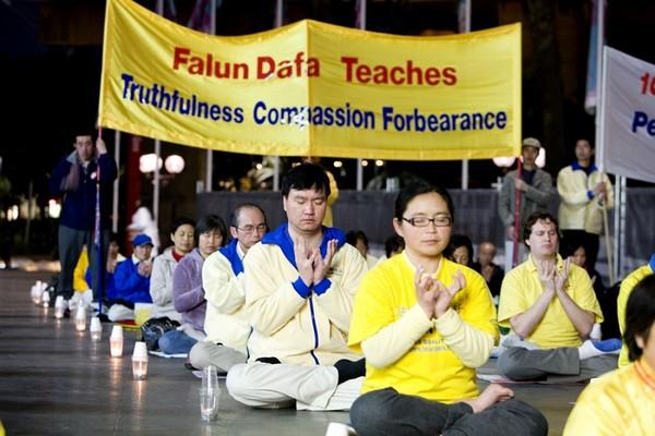 Сидней. Акция против репрессий Фалуньгун в Китае. Фото: The Epoch Times