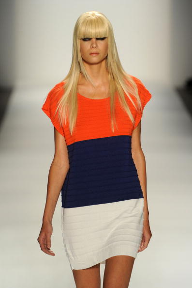 Презентация коллекции IVANAhelsinki Весна 2011 на Неделе моды Mercedes-Benz в Нью-Йорке. Фото Frazer Harrison/Getty Images for IMG