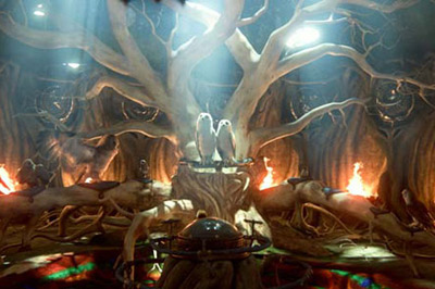 Кадр з мультфільму «Легенди нічних вартою»