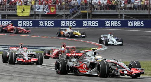 Во время седьмого этапа чемпионата мира Формулы-1 – Гран-при США. Фото: JEFF HAYNES/AFP/Getty Images