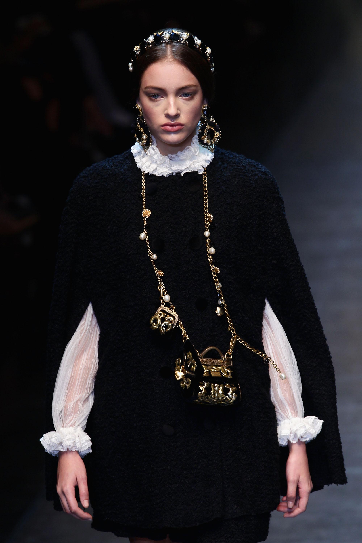 Dolce&Gabbana на Неделе моды в Милане. Фото: Vittorio Zunino Celotto/Getty Images
