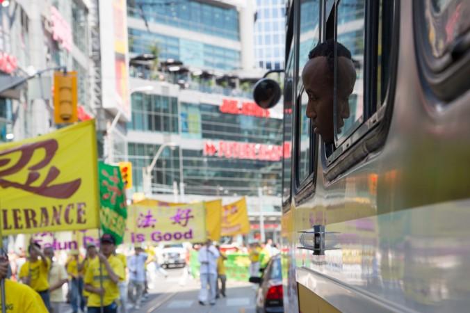 Торонто, Канада. День вшанування пам'яті загиблих в ході репресій послідовників Фалунь Дафа. Фото: Велика Епоха