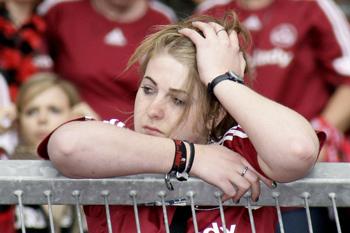 У пам'яті людей, які страждають на посттравматичний синдром, постійно виникають закріплені в пам'яті травмуючі переживання. Фото: Thomas Langer / Bongarts / Getty Images