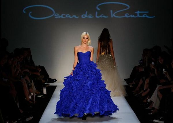 Коллекция от Oscar de la Renta на четвертый день недели моды MasterCard Luxury Week. Фото: Lucas Dawson/Getty Images