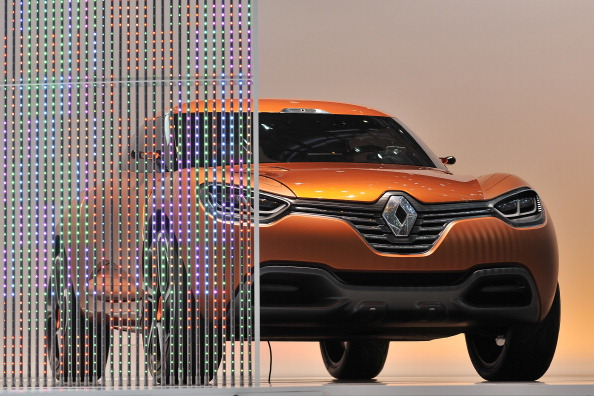 Renault Captur concept car. Фото:FABRICE COFFRINI/Getty Images