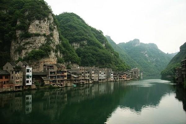 Китайське селище Чженьюань, яке в народі називають «Стародавнє селище Тайцзи». Китайська Народна Республіка. Фото з likefar.com