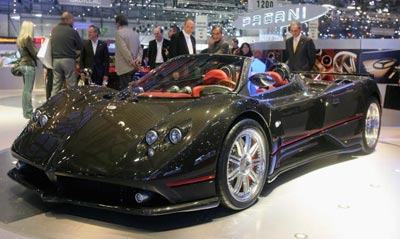 Pagani Zonda Roadster. Фото: Scott Barbour/Getty Images