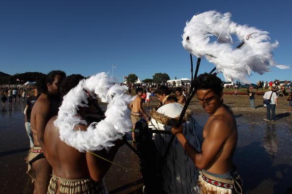 Жители Новой Зеландии отмечают День Вайтанги. Фото: Phil Walter/Getty Images