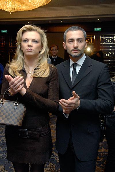 Певец Андрей Kishe со своей супругой. Фото: Владимир Бородин / The Epoch Times