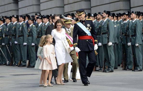 Торжества по поводу коронации Фелипе VI, Мадрид, Испания, 19июня 2014года. Фото: Evrim Aydin/Anadolu Agency/Getty Images
