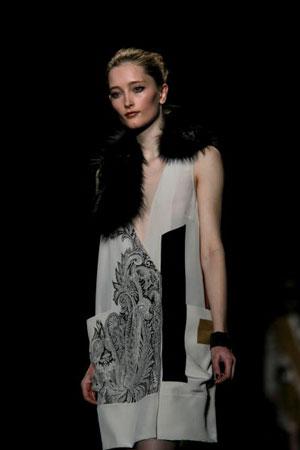 The Etro fashion show/жіноча колекція ready-to-wear осінь-зима 2007. Фото: Giuseppe Cacace/Getty Images