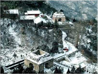 Гори Уданшань. Фото з secretchina.com