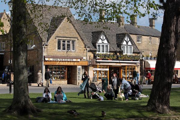 Котсволдс – уютный городок в западной Англии. Фото: Matt Cardy/Getty Images