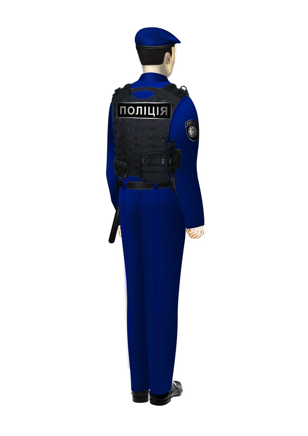 Предложенная форма для украинской полиции. Фото предоставлено производственным концерном «Военторг ДиСи»