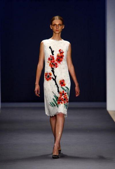 Показ коллекцииVivienne Tam в рамках Недели моды в Нью-Йорке. Фото: Frazer Harrison/Getty Images