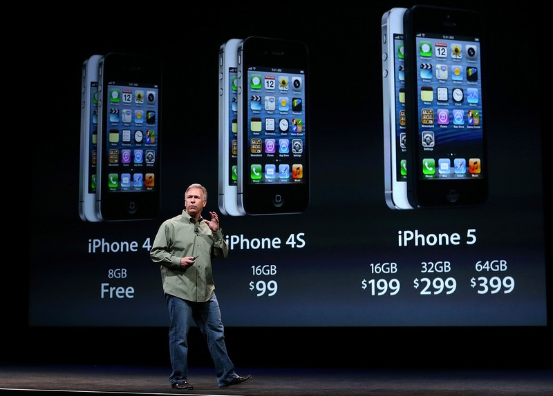 Сан-Франциско, США, 12 сентября. Компания Apple представила iPhone 5. Фото: Justin Sullivan/Getty Images