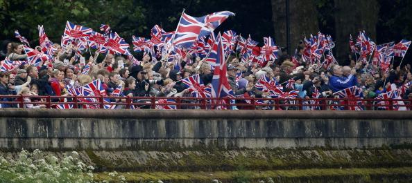 Її Величність Королева Єлизавета II святкує 60-ту річницю свого сходження на престол. Лондон, Англія. 3 червня 2012. Фото: WPA Pool /Getty Images