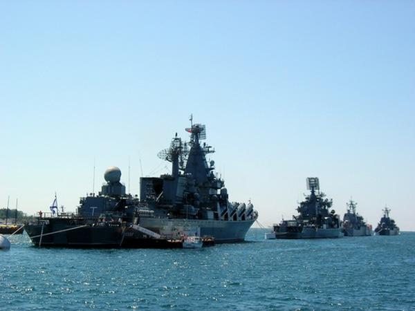 Парад кораблей. Фото: Алла Лавриненко/The Epoch Times Украина