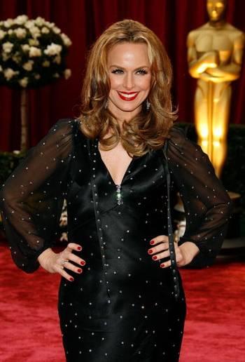 Актриса Мелора Хардин (Melora Hardin) посетила церемонию вручения Премии Оскар в Голливуде Фото: Vince Bucci/Getty Images