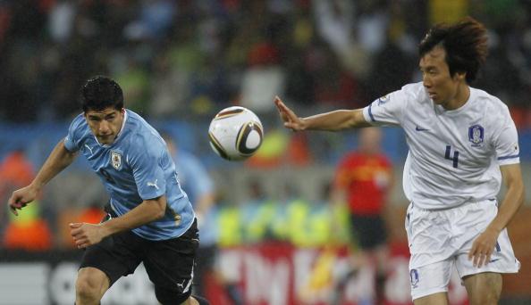 Уругвай - Південна Корея Фото: Laurence Griffiths, Lars Baron /Getty Images Sport