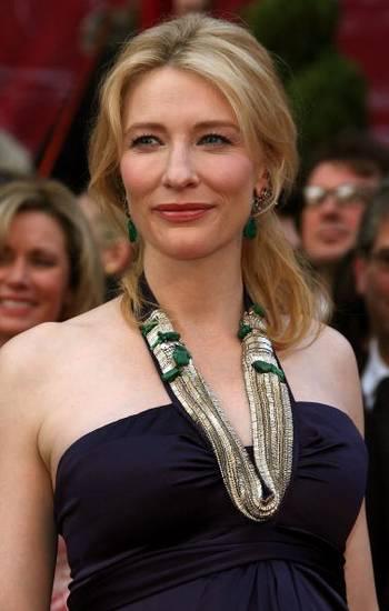 Актриса Кейт Бланшетт (Cate Blanchett) посетила церемонию вручения Премии Оскар в Голливуде Фото: Frazer Harrison/Getty Images