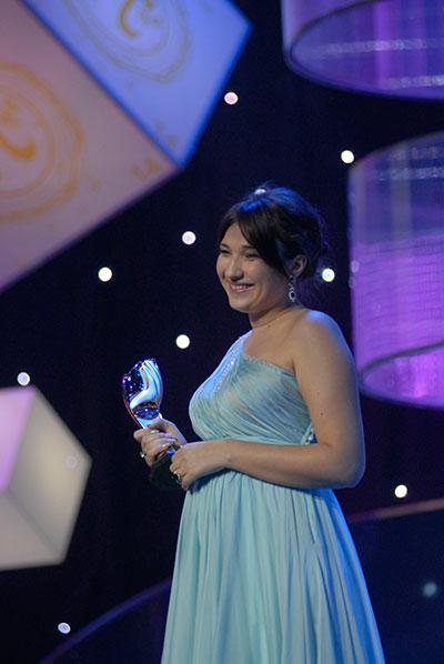 Катерина Шаховская победила в номинации «Дизайнер одежды». Фото: Владимир Бородин/The Epoch Times
