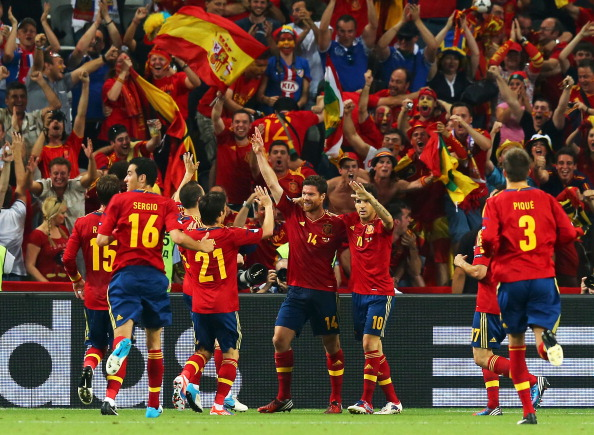 Испания – Франция Фото: Alex Livesey, Jasper Juinen, Martin Rose /Getty Images Sport