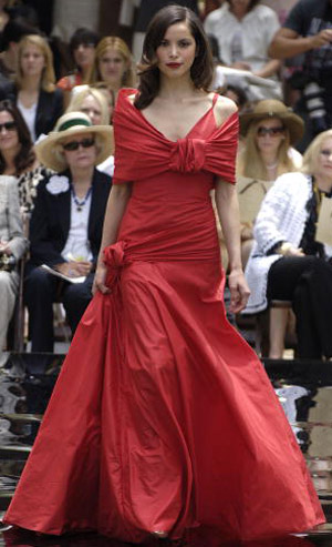 Valentino осень-зима 2007. Фото: Toby Canham/Getty Images