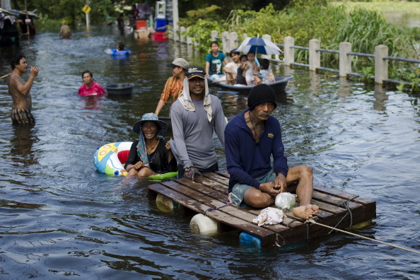 Уряд Таїланду визнав, що Бангкок може піти під воду. Фото: PORNCHAI/Getty Images