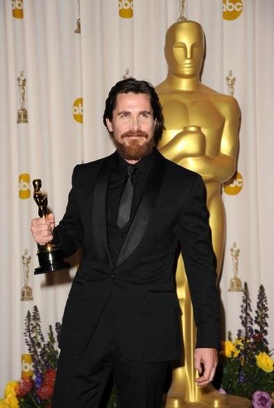 Кращий актор другого плану Крісіан Бейл. Фото: Jason Merritt/Getty Images