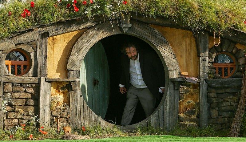 Веллингтон, Новая Зеландия, 28 ноября. В кинотеатре Embassy открывается мировая премьера фильма «Хоббит: Нежданное путешествие». Фото: Hagen Hopkins/Getty Images
